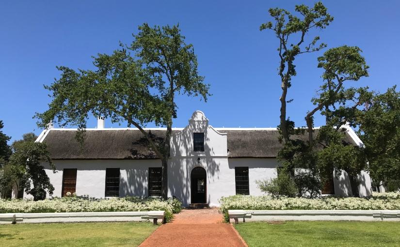 Western Cape Wine Region:Stellenbosch